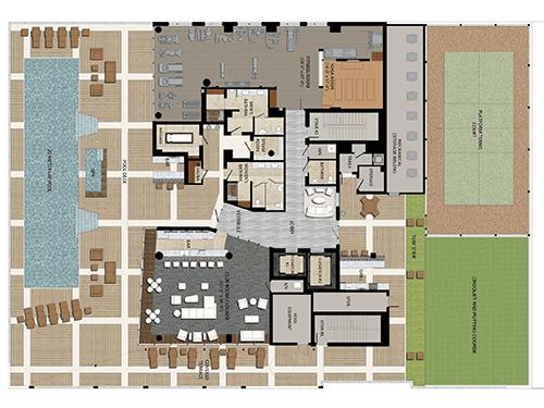 The Jewel Amenities Floor Plan