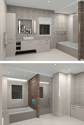 The Jewel Bath Rendering
