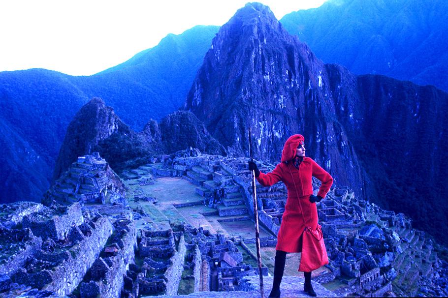 Grazia-Foto-al-Machu-Picciu-in-Peru