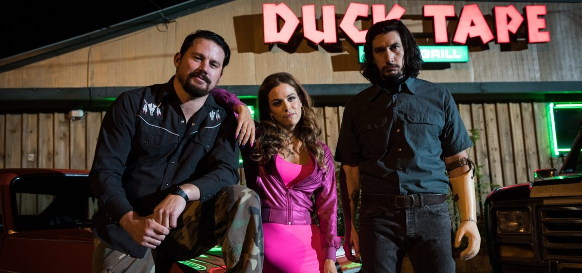 logan lucky riley keogh channing tatum adam driver still