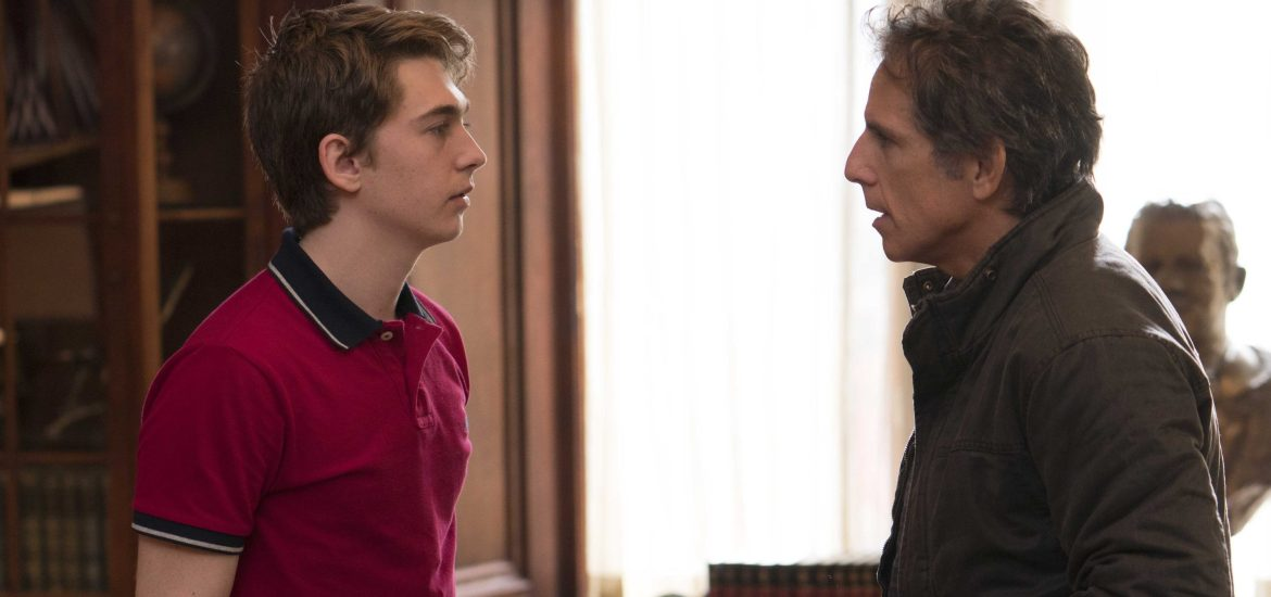 ben still and austin abrams in Mike White's BRAD'S STATUS