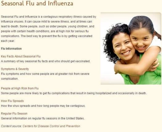 flu-healthcare-example Millennials and Healthcare: What is  your Engagement Strategy on Social Media
