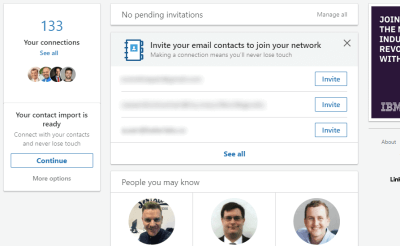 LinkedIn-invite 12 Ways to Market Your Medical or Dental Practice With LinkedIn