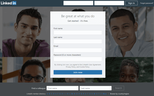 LinkedIn-sign-in 12 Ways to Market Your Medical or Dental Practice With LinkedIn
