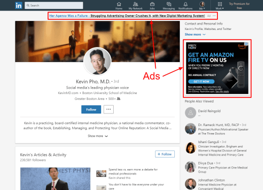 LinkedInads-e1522426687607 12 Ways to Market Your Medical or Dental Practice With LinkedIn