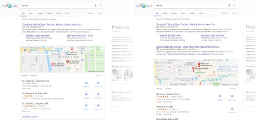 doctor-results-comparison Ultimate Guide to SEO for Healthcare (in 2018)