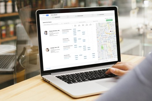 find a doc scaled - Patient Direct Scheduling