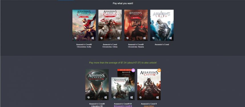 Assassin's Creed Humble Bundle 2