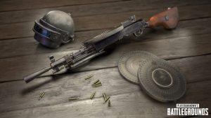 PUBG 1.0 machine gun