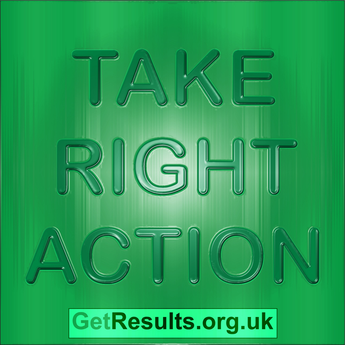 Get Results: take right action