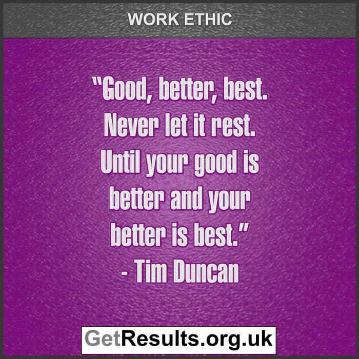 Get Results: work ethic