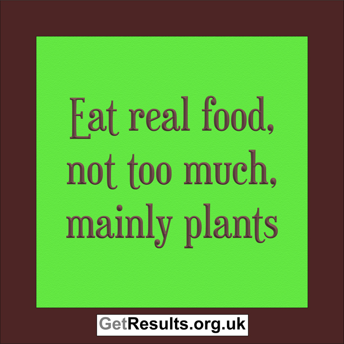 Get Results: healthy foods