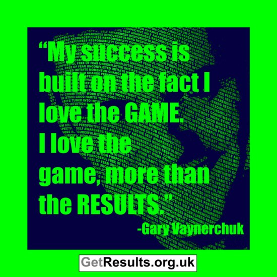 Get Results: gary vaynerchuk quotes the game