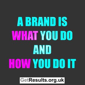 Get Results: brand what and how you do
