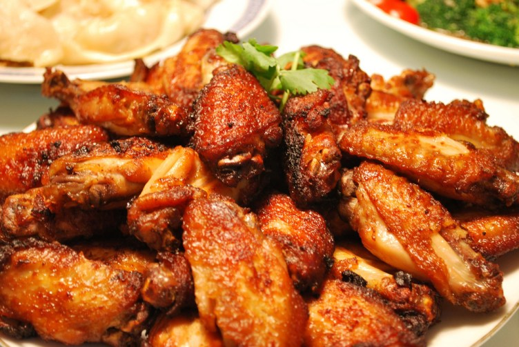 Spicy Garlic Wings Recipe