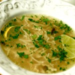 Lemony Egg Soup
