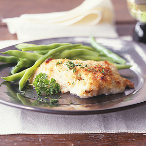 Saucey baked fish fillets