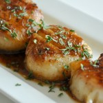 Ginger Seared Scallops