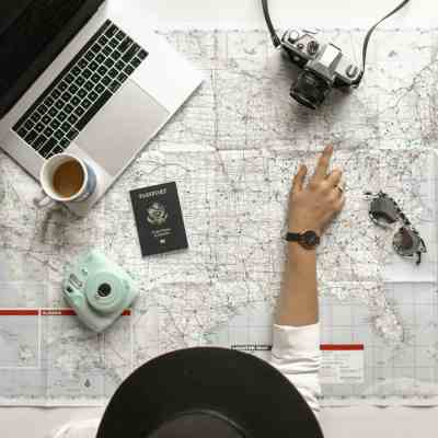 Dial out of tech on vacation, but still stay social