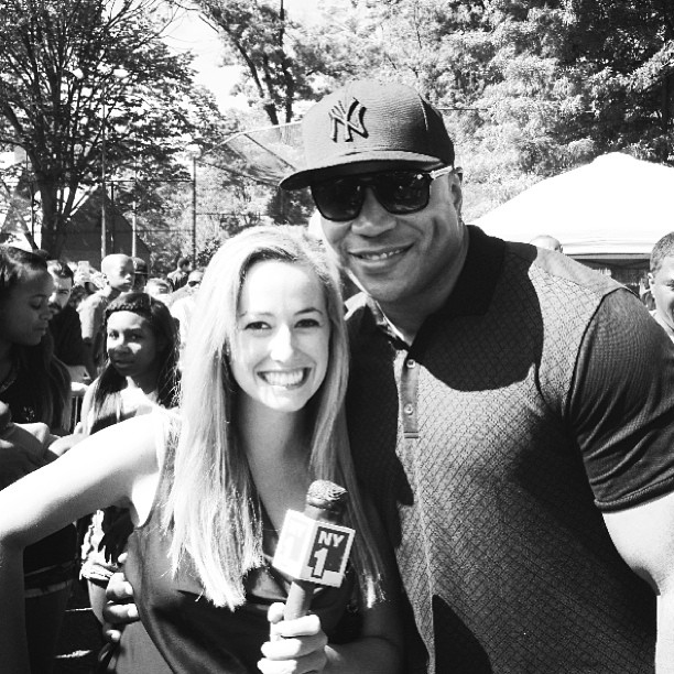 My first job as an on-camera reporter in NYC