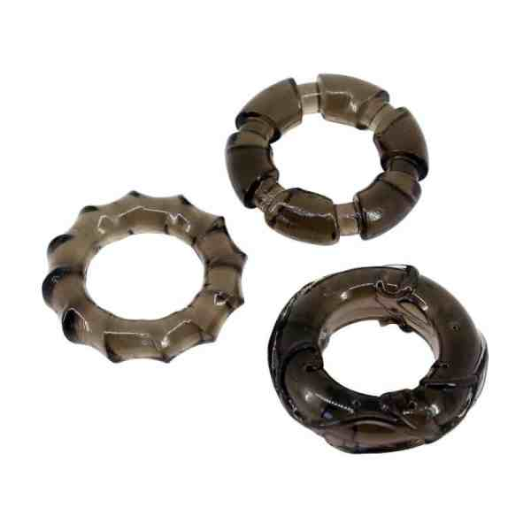 DND Exotic Erection Rings (Set Of 3)