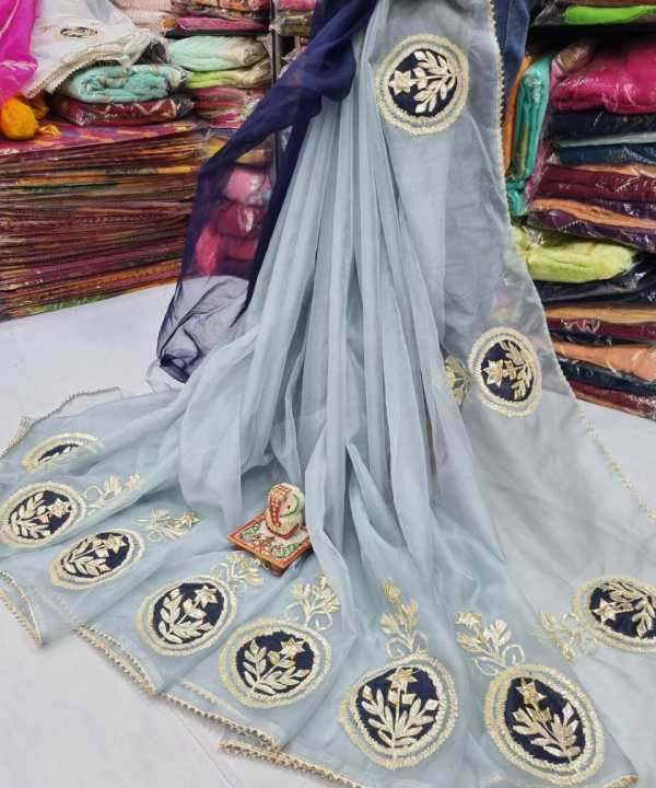 Embroidery Organza Saree with a new designer patterns | buy now