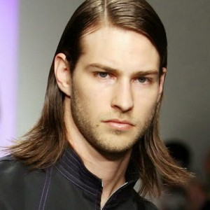 long shiny mens hairstyles