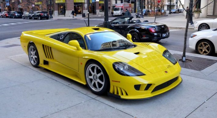 Saleen S7 Gold Yellow | 25 Expensive Cars