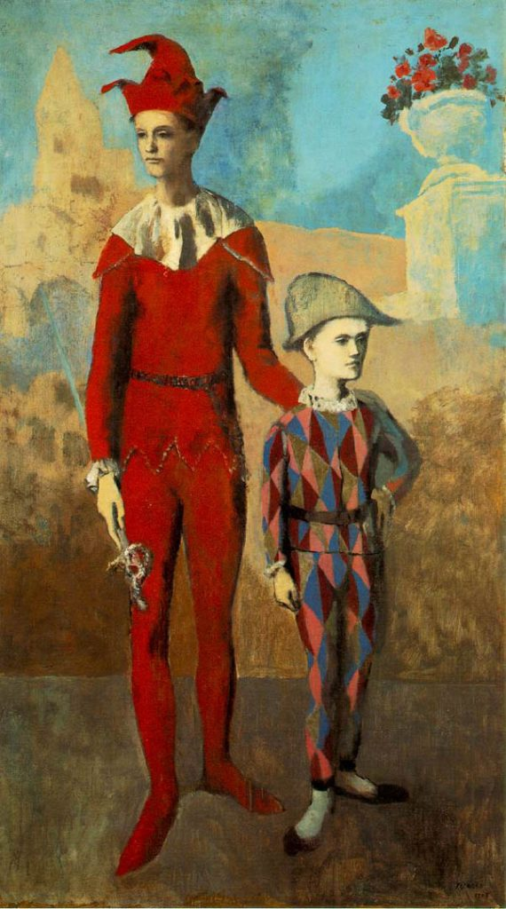 Acrobat and Young Harlequin | Painted by Pablo Picasso | 25 Most Expensive Paintings in the World
