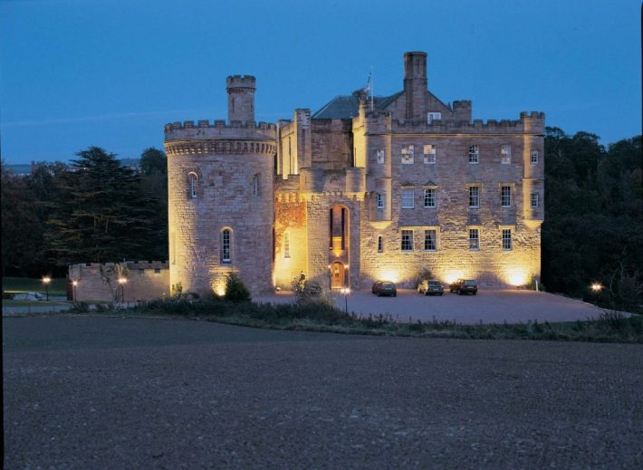 Dalhousie Castle - Scotland | 25 Most Haunted Hotels of the World