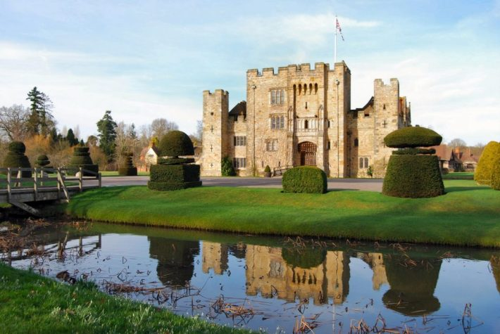 Hever Castle - England | 25 Most Haunted Hotels of the World