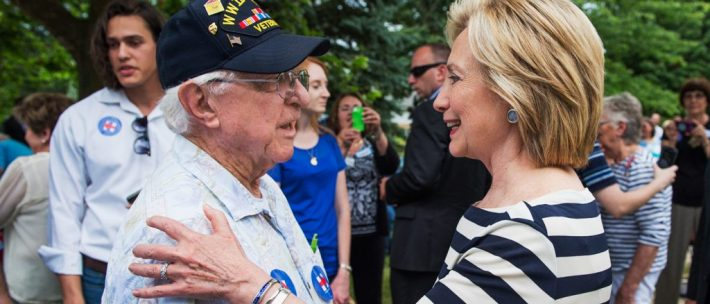 Hillary Clinton | Fighting for the rights of veterans