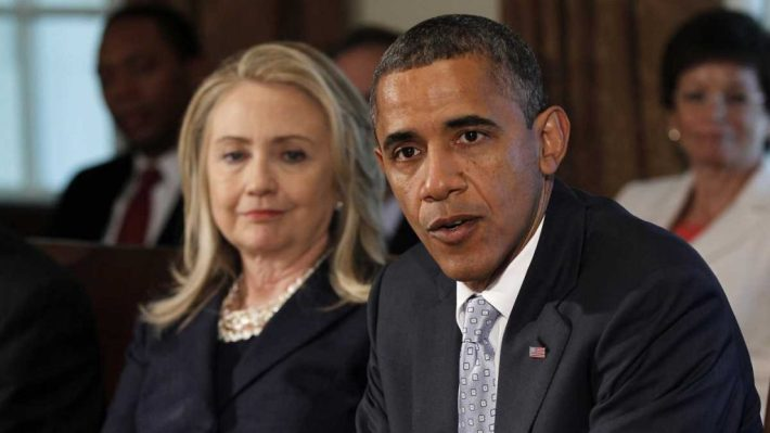 Hillary Clinton | With Obama