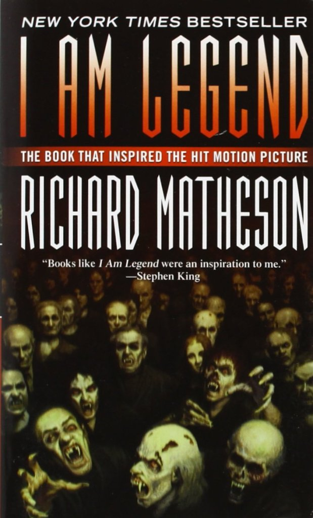 I am Legend by Richard Matheson | 25 Scary Books That Will Keep You Up All Night Awake