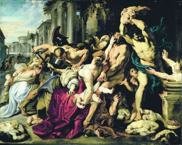 Massacre of the Innocents | Painted by Peter Paul Rubens | 25 Most Expensive Paintings in the World