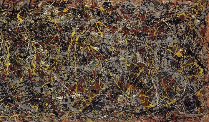 No. 5, 1948 | Painted by Jayson Pollock | 25 Most Expensive Paintings in the World