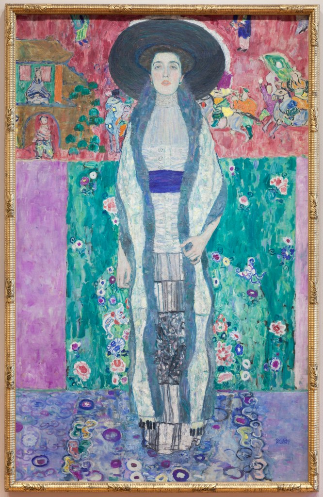 Portrait of Adele Block Bauer II | Painted by Gustav Klimt | 25 Most Expensive Paintings in the World