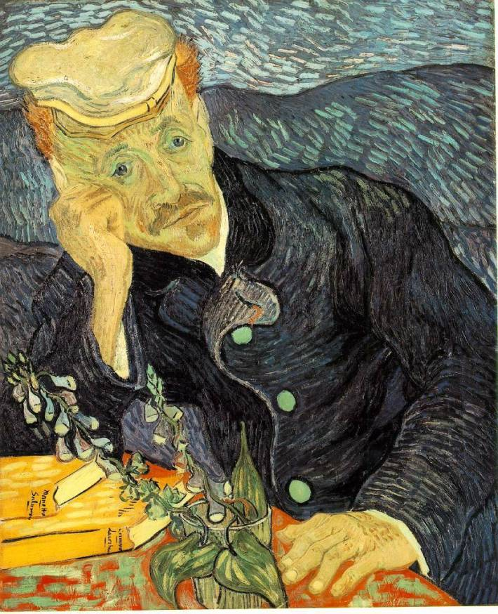 Portrait of Dr. Gachet | Painted by Vincent van Gogh | 25 Most Expensive Paintings in the World
