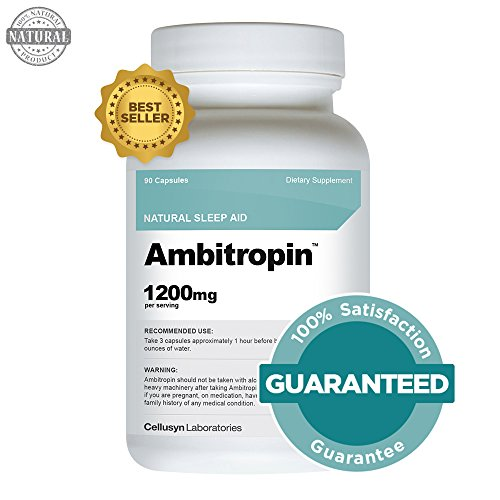 Ambitropin – Sleep Aid – Sleep Aids Natural – One of the Best Sleep Pills That Is Sold As an Over the Counter Sleep Aid