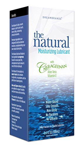 Carrageenan All Natural Personal Lubricant, 3.4 fl oz.