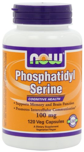 NOW Foods Phosphatidyl Serine 100mg, 120 Capsules