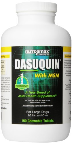 Nutramax Dasuquin with MSM for Large Dogs – 150 Tablets