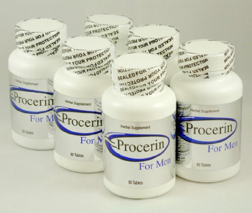 Procerin Tablets Hair Re Growth for Men, 6 – 90 tablet Bottles