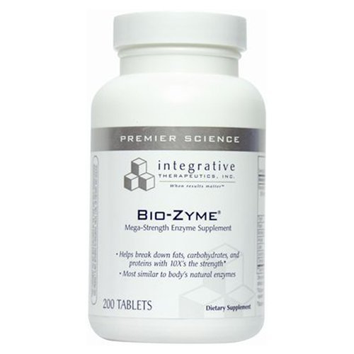 Integrative Therapeutic Biozyme Tablets, 200 Count
