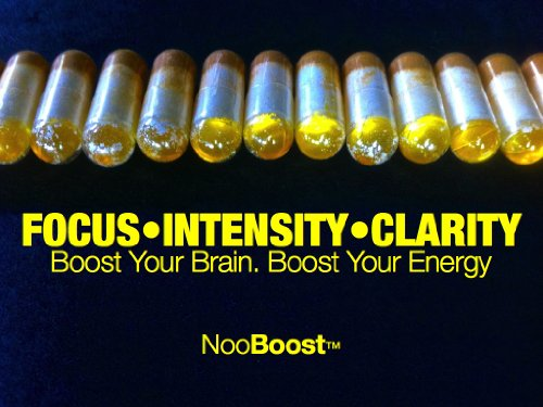 NooBoost – 24 Powerful Nootropic Booster Caps – The Brain and Body Booster for NZT-48