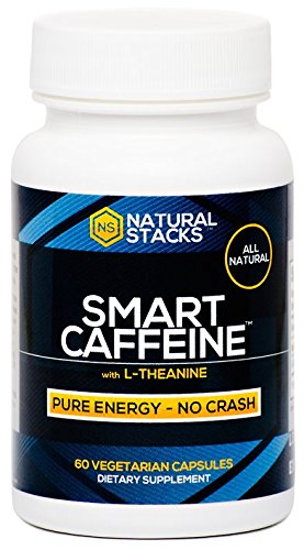 Smart Caffeine Nootropic Stack with L-theanine for Focused Energy | No Jitters or Crash | #1 Recommended Nootropic Stack in the World!