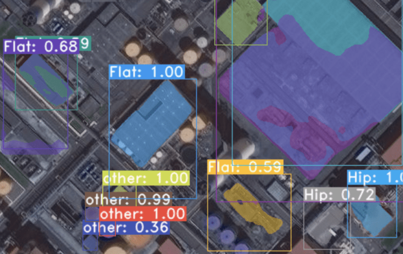 rooftop detection satellite solar AI