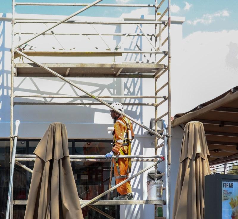 scaffolding solar installation process solar ai singapore