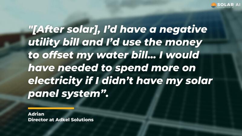 solar homeowner interview adrian