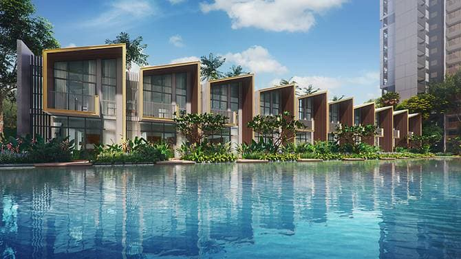 strata landed houses singapore